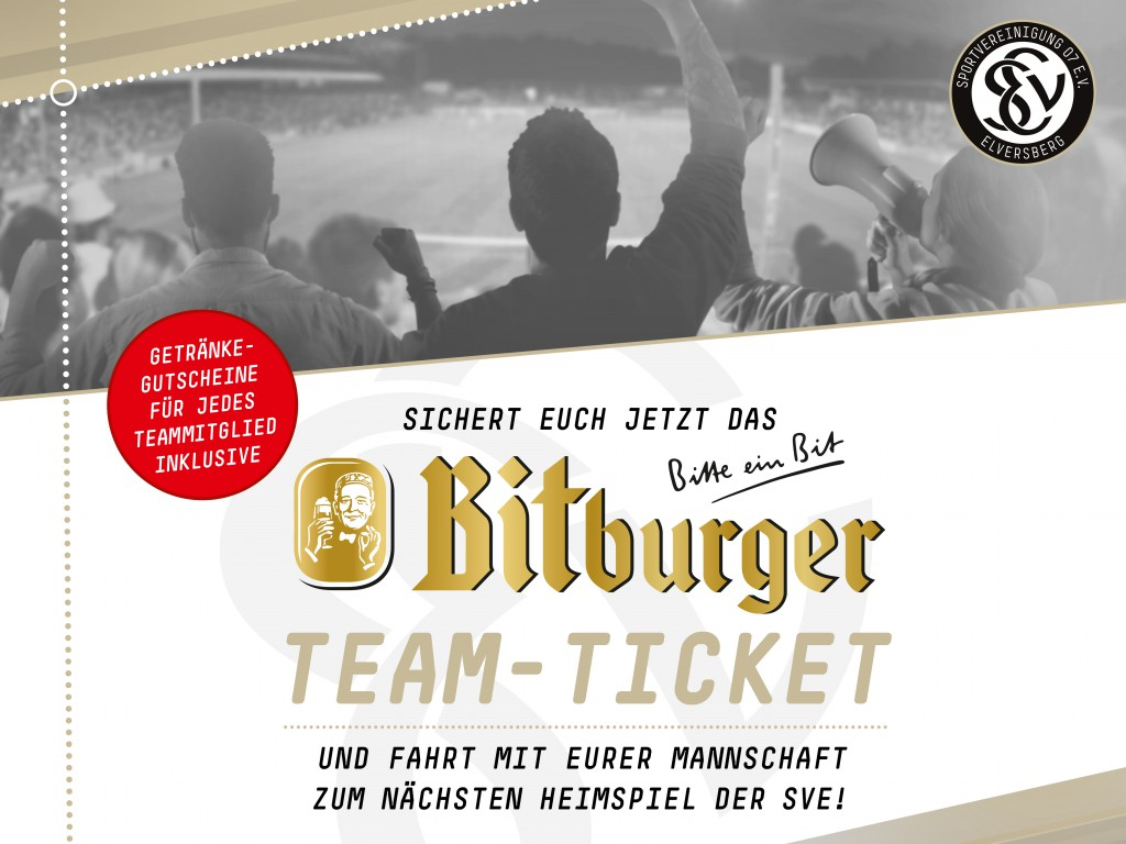 Bitburger Team Ticket
